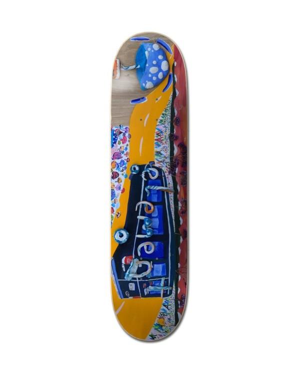 0 Shroom Tour Skateboard Deck Multicolor ALYXD00212 Element