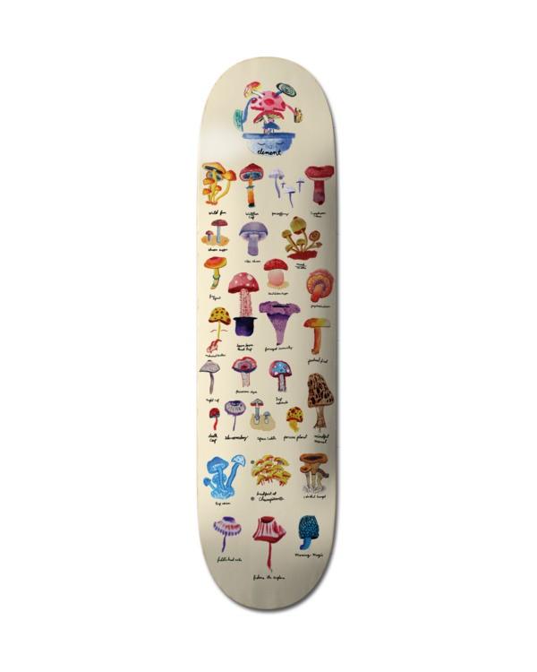 0 Field Guide Skateboard Deck Multicolor ALYXD00213 Element