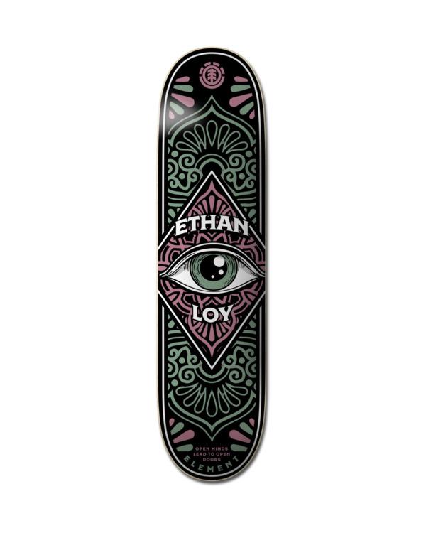 0 Third Eye Loy Skateboard Deck Multicolor ALYXD00214 Element