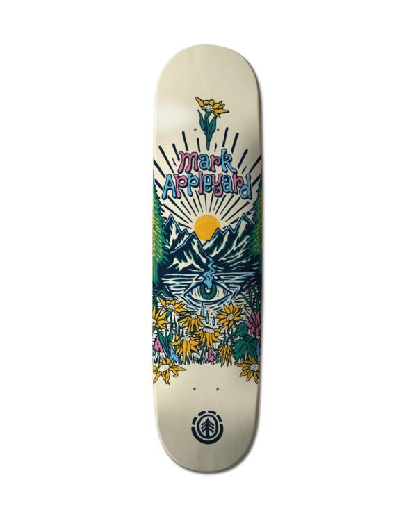 0 Super Natural Appleyard Skateboard Deck Multicolor ALYXD00227 Element