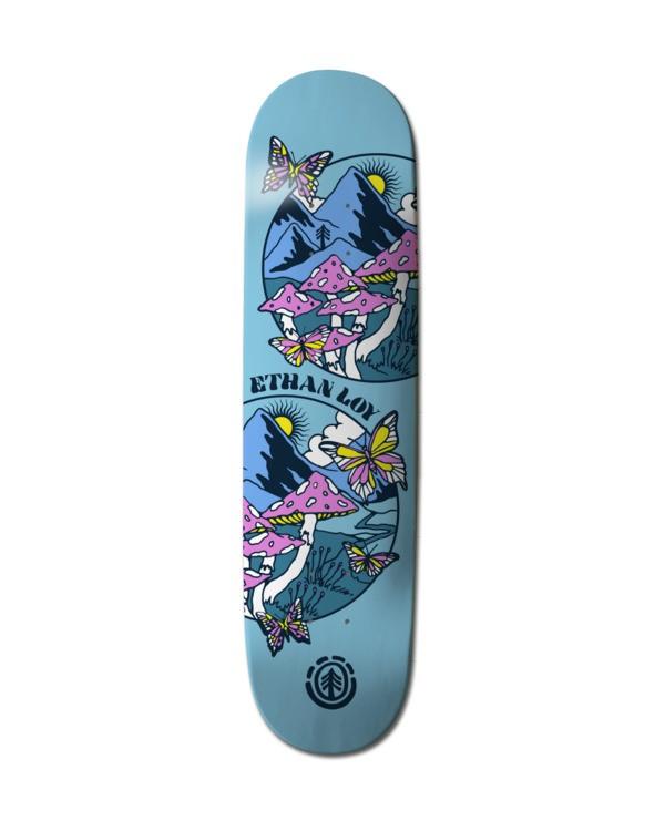 """0 Super Natural Ethan Skateboard Deck 8.46"""" Multicolor ALYXD00228 Element"""
