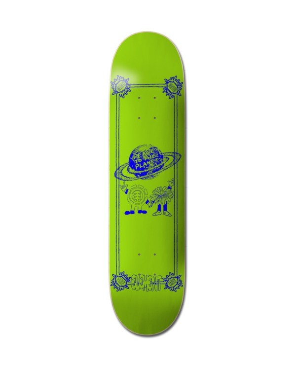 "0 Planet Peace Skateboard Deck 8.38"" Multicolor ALYXD00231 Element"