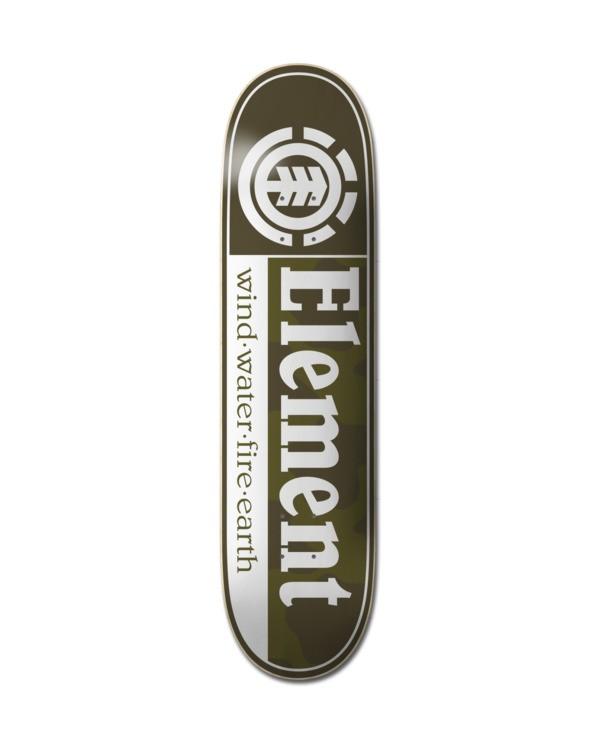 0 Camo Section Skateboard Deck Multicolor ALYXD00234 Element