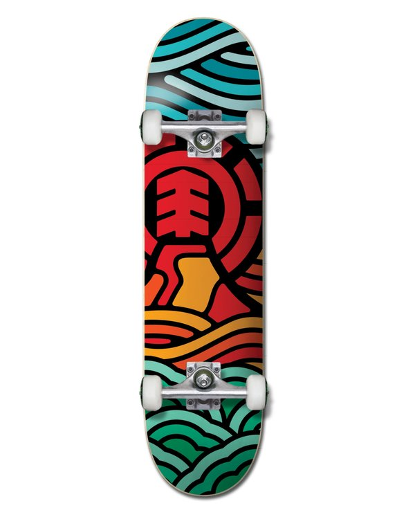 0 Volcanic Complete Skateboard Multicolor ALYXW00112 Element