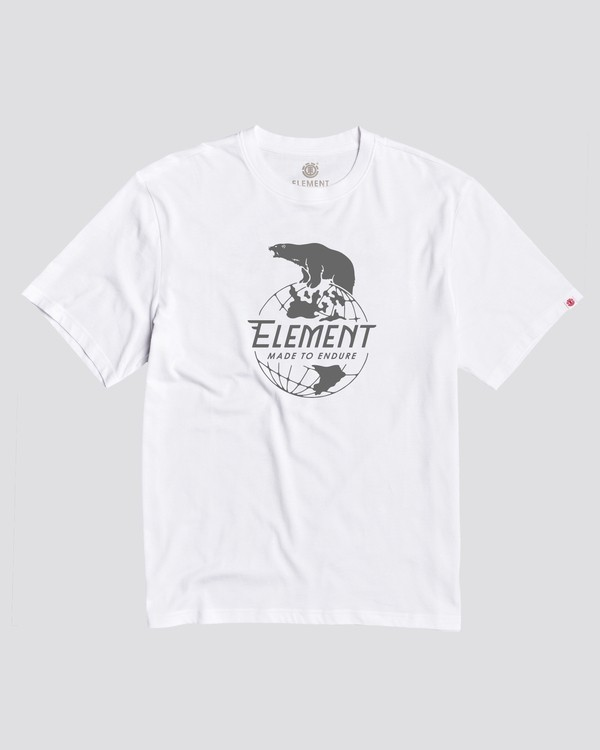 0 Bear T-Shirt White ALYZT00138 Element