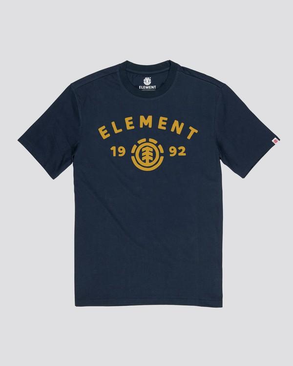 0 Arch Tree T-Shirt Blue ALYZT00148 Element