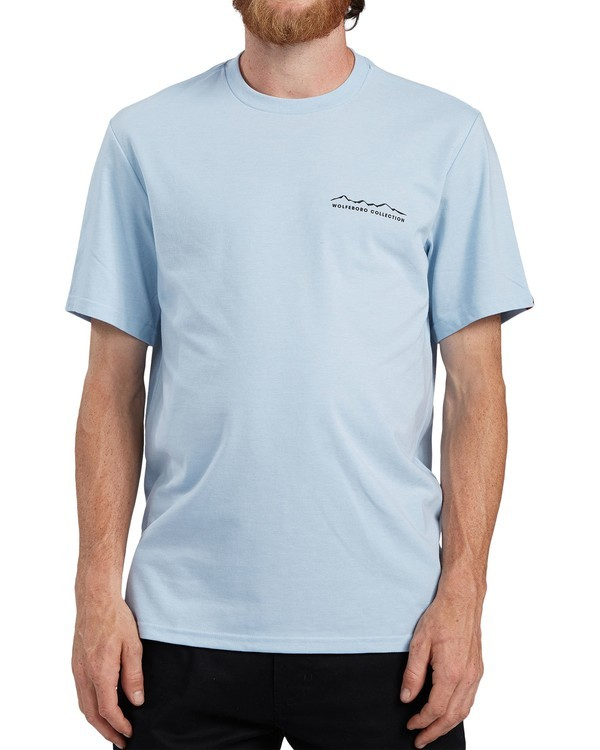0 Logo Wick UPF 50+ T-Shirt Blue ALYZT00207 Element