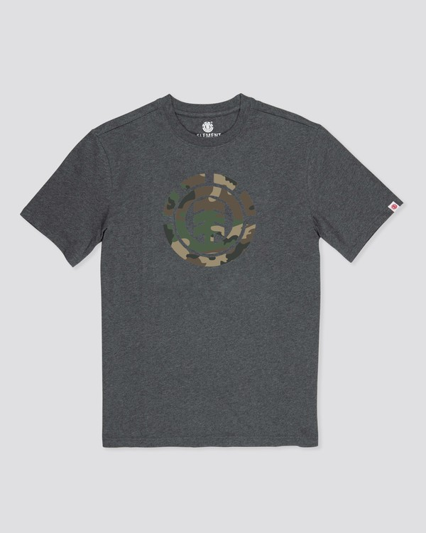 0 Camo Icon T-Shirt Grey ALYZT00226 Element