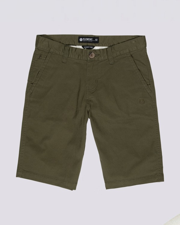 0 Boys' Howland Classic Shorts Beige B2121EWS Element