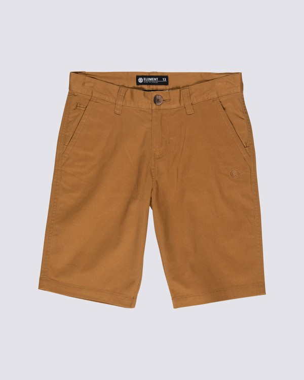 0 Boys' Howland Classic Shorts Brown B2121EWS Element