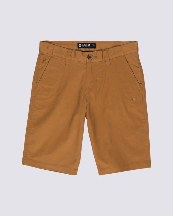 0 Boys' Howland Classic Short Brown B2121EWS Element