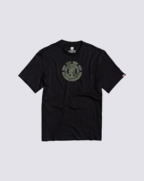 0 Boys' Water Camo T-Shirt  B4013EWA Element