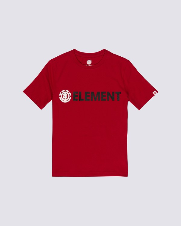 0 Boys' Blazin T-Shirt Red B4501EBL Element