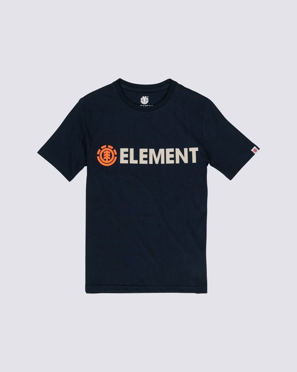 0 Boys' Blazin T-Shirt Blue B4501EBL Element