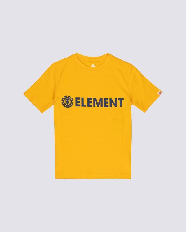 0 Boys' Blazin T-Shirt Yellow B4501EBL Element