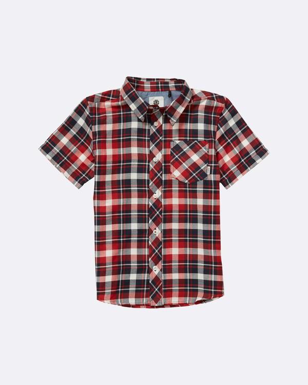 0 Boys Goodwin Woven Shirt  B520NEGS Element