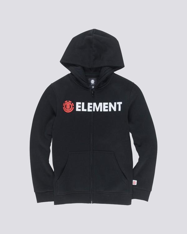 0 Boy's Blazin' Zip Hoodie  B637QEBZ Element