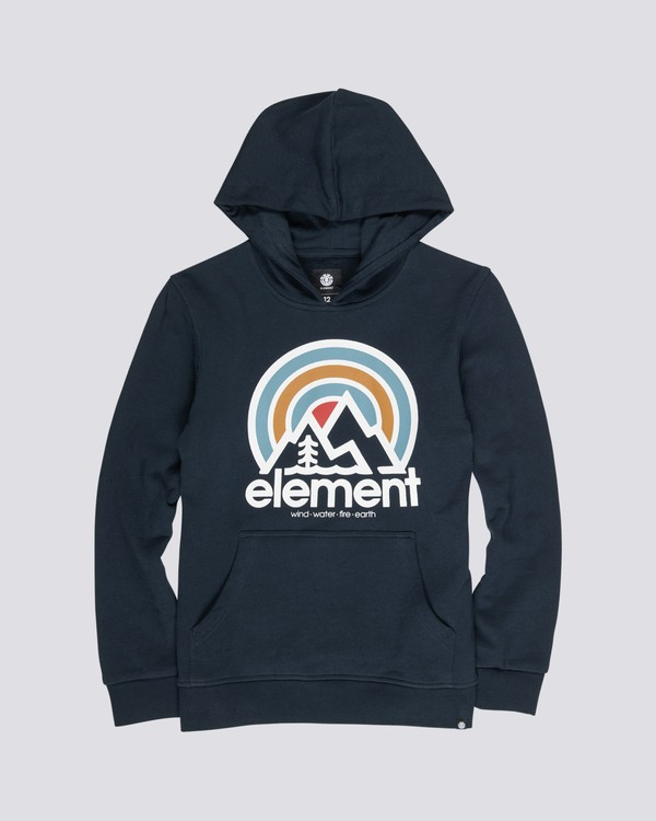 0 Boys' Sonata Hoodie Blue B6581ESH Element