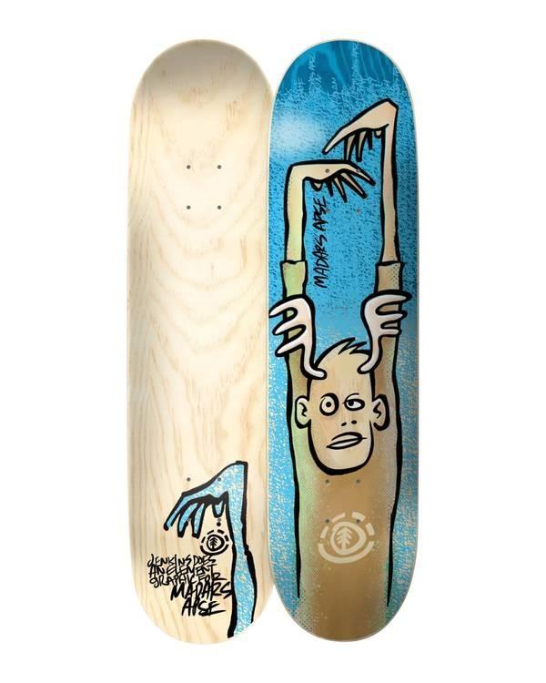 0 Jenkins Madars Skateboard Deck Multicolor BDLG4AJM Element