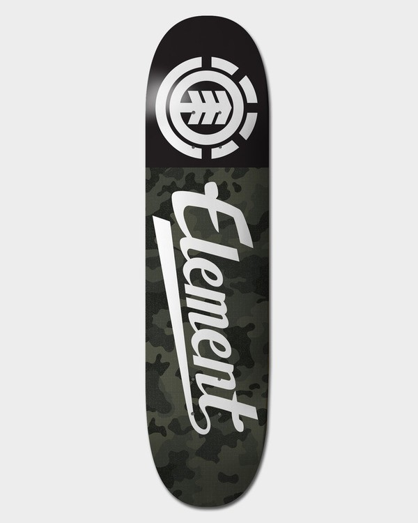 0 BLACK CAMO SCRIPT 8.25 DECK  BDLGQBCL Element