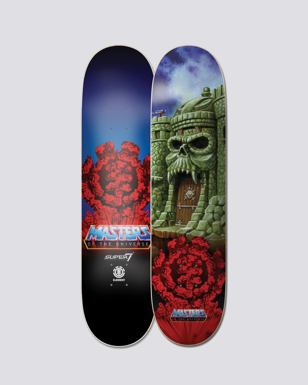 0 Masters Of The Universe Grayskull Skateboard Deck  BDLGWMCG Element