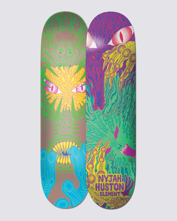 0 Tetsunori Nyjah Skateboard Deck  BDPR2TNH Element
