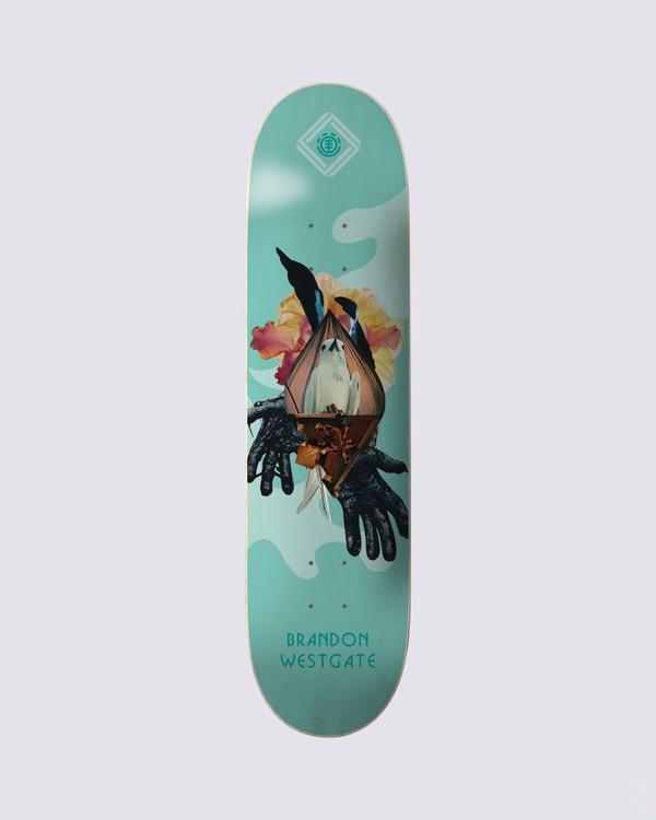 0 Cut Paste Westgate Skateboard Deck Multicolor BDPR3CPE Element