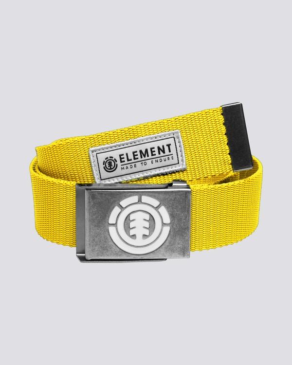 0 Beyond - Cinturón para Hombre  C5BLA1ELP7 Element