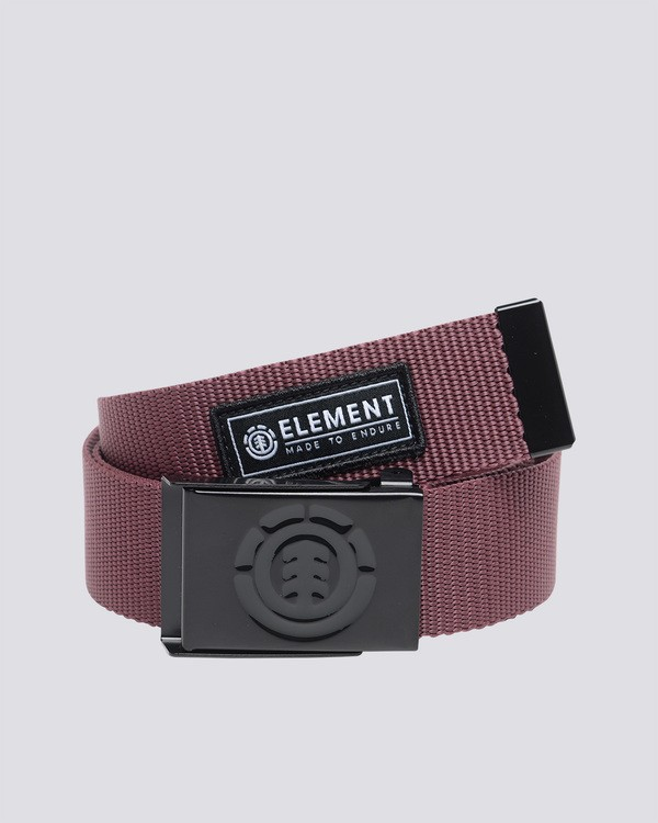 0 Beyond - Belt for Men Red C5BLA1ELP7 Element