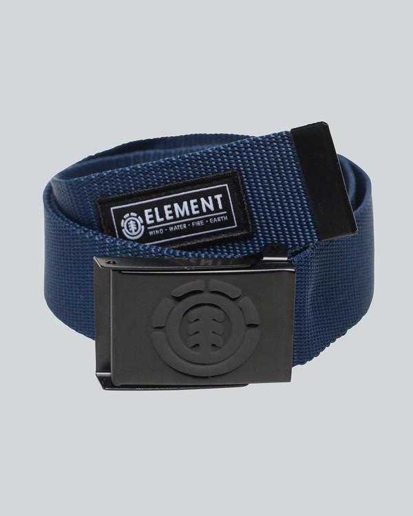 0 Beyond - Gürtel für Herren Blau C5BLA1ELP7 Element