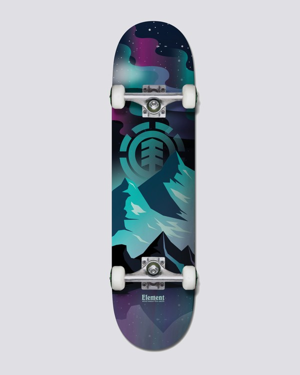 0 Aurora Complete Skateboard Multicolor COLG1AUR Element