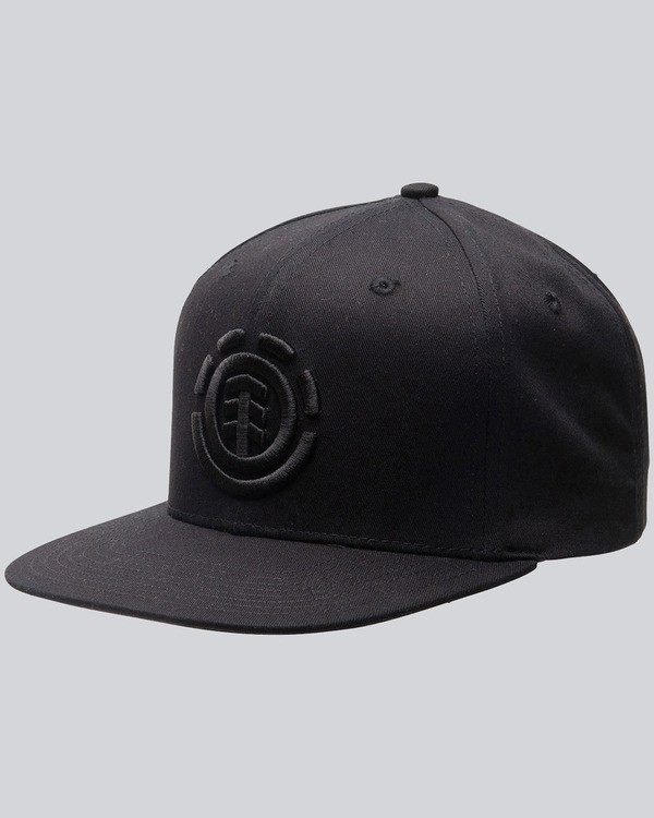 0 Knutsen Cap - Cap for Men Black F5CTA8ELF7 Element