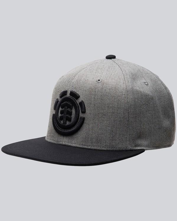 0 Knutsen Cap B - Head Wear for Men Grey F5CTA9ELF7 Element