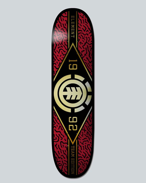 0 River Camo 7.3 Twig - Deck  H4DCAIELP8 Element