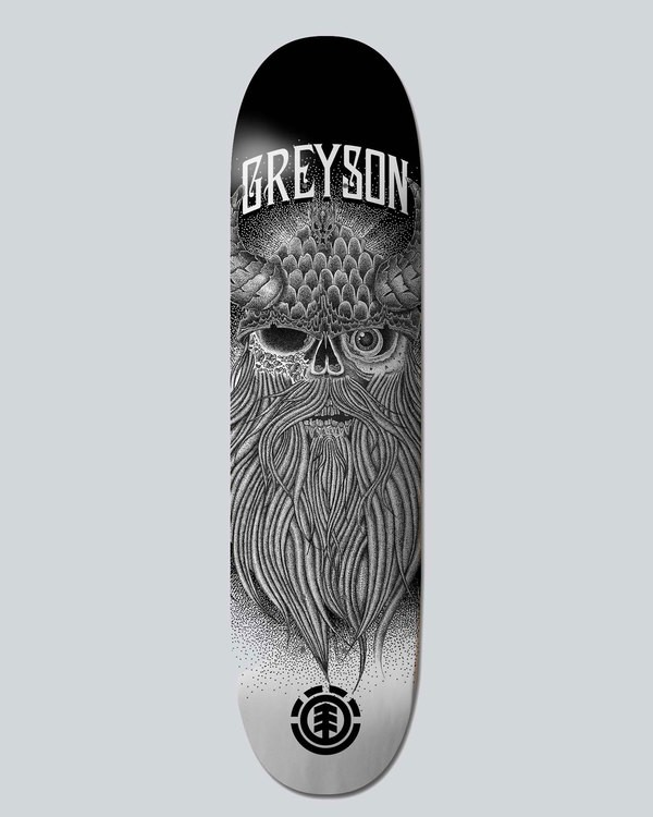 0 Greyson Skull 8.5 - Deck for Men  H4DCATELP8 Element