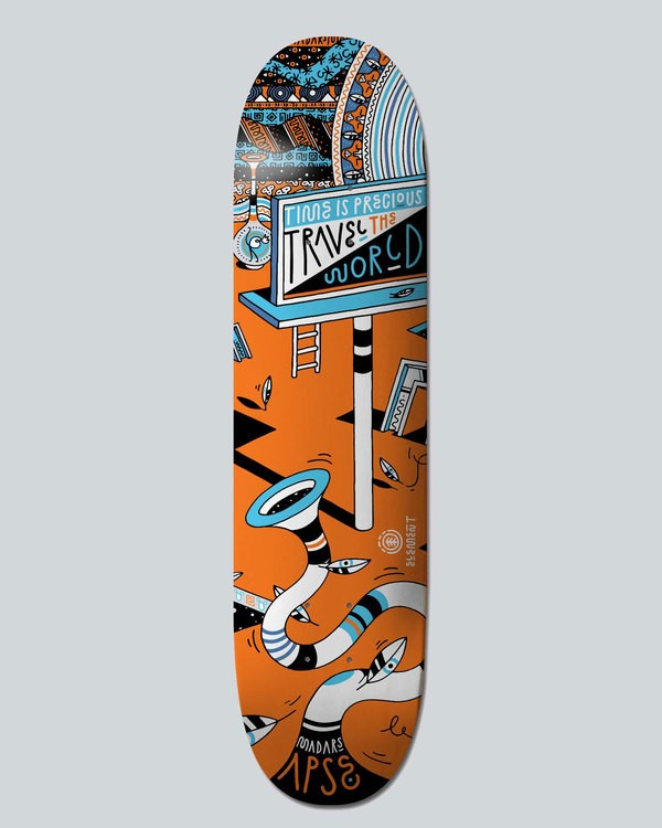 0 Elna World Apse 8.2 - Deck  H4DCBKELP8 Element