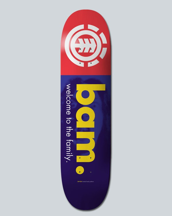 0 Bam Welcome 8.25 - Deck for Men  H4DCBSELP8 Element