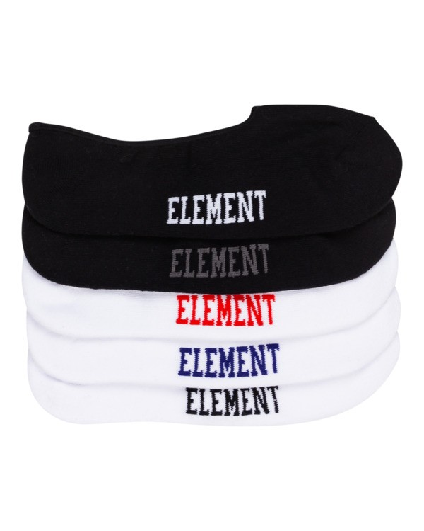 0 Low-Rises 5 Pack - Socken für Herren  H5SOA5ELPP Element
