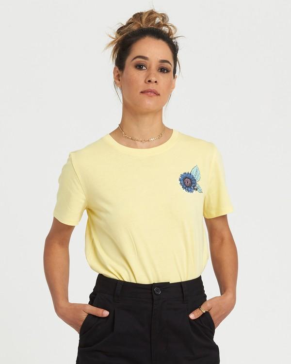 0 Branded Crop T-Shirt Purple J4981EBR Element
