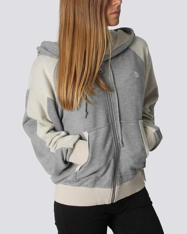 0 Be Still Hoodie Grey J652QEBS Element