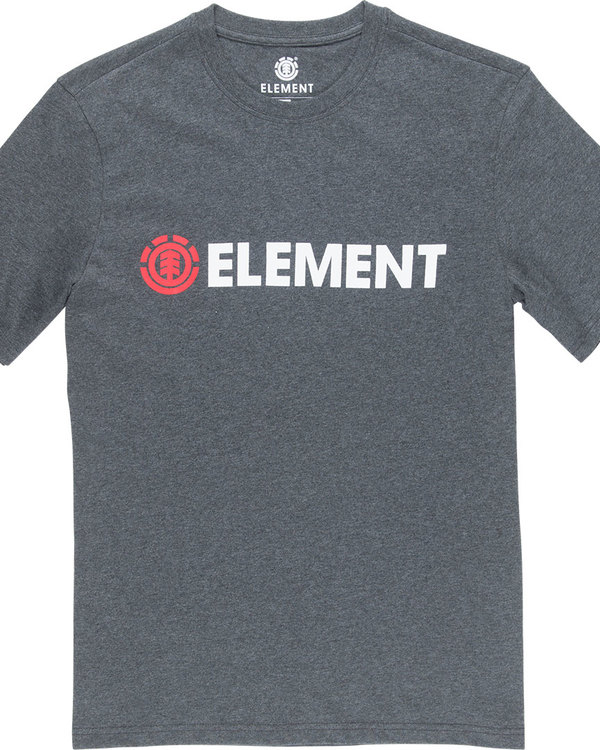 0 Blazin Ss - Tee Shirt for Men Grey L1SSA6ELF8 Element