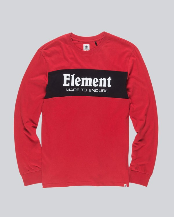 0 Primary Ls Boy Tee - Tee Shirt for Boys  L2LSB2ELMU Element