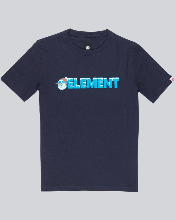 0 Snow Ss Tee Boy 2 - Tee Shirt for Boys  L2SSC8ELF8 Element