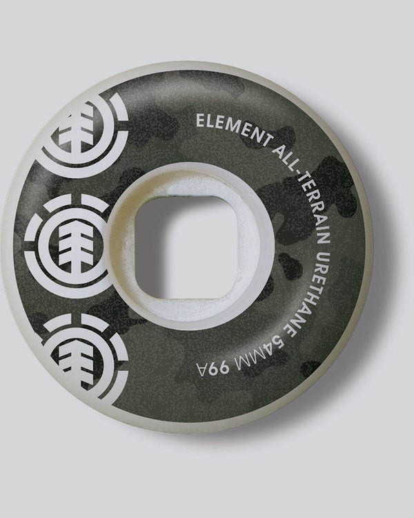 0 Bark Camo 54Mm - Wheels&Bearings for Men  L4WHH4ELF8 Element