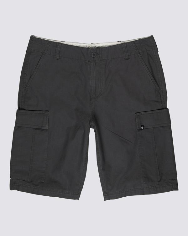 """0 Legion Cargo 21"""" Shorts Black M2121ELE Element"""