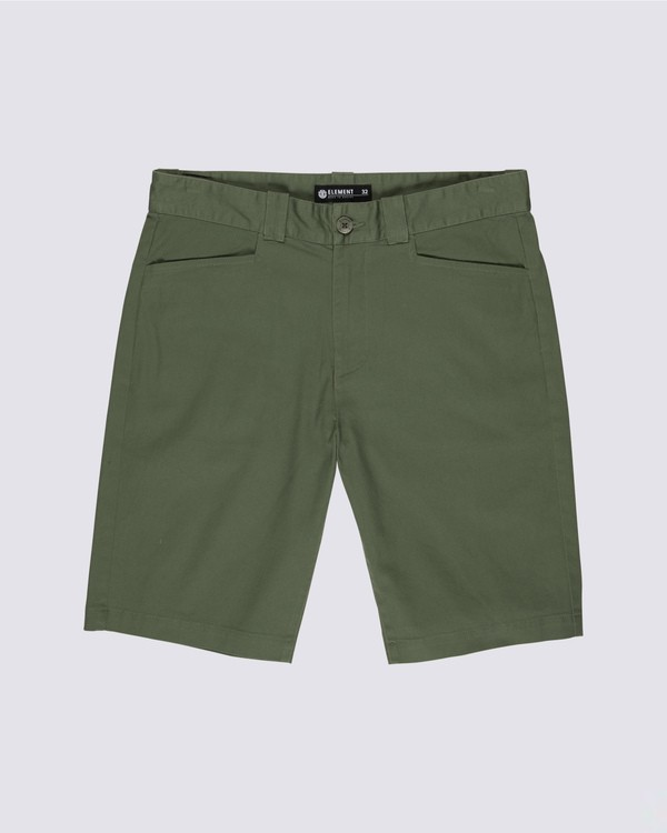 0 Sawyer Shorts Green M245TESW Element