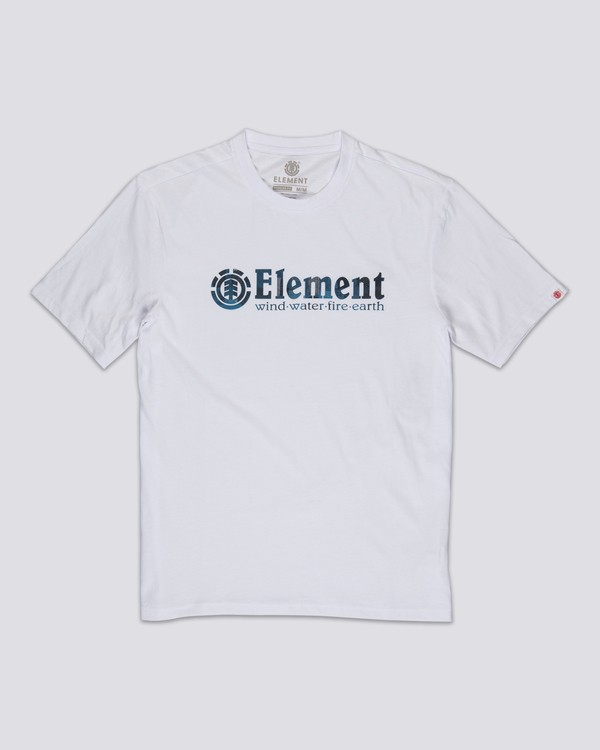 0 Boro T-Shirt White M4011EBO Element