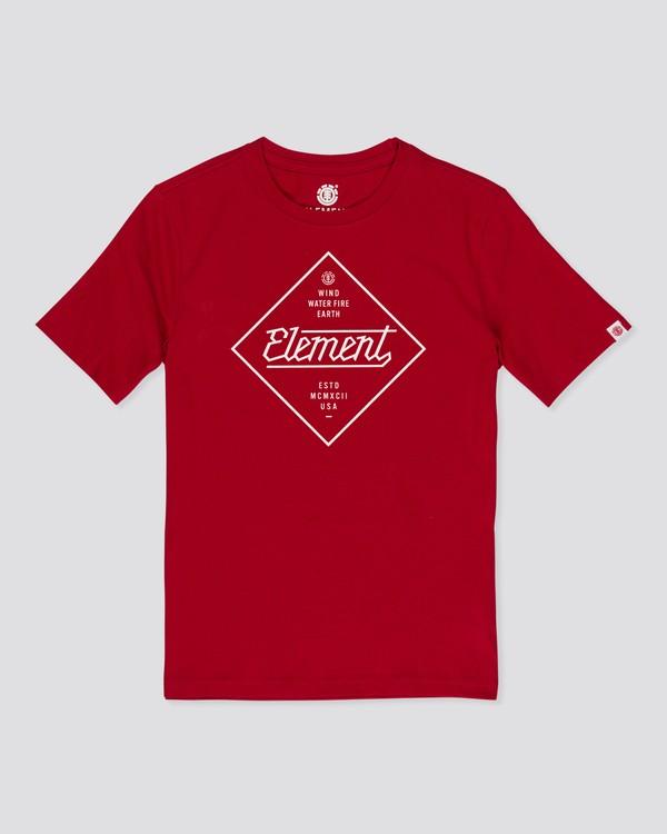 0 Stadium T-Shirt Red M4012EST Element