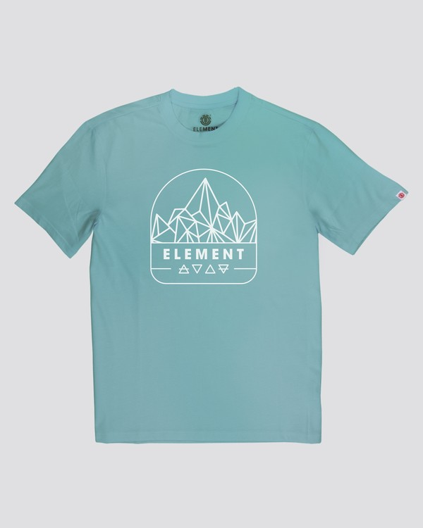 0 Summit Point T-Shirt Green M4012ESU Element