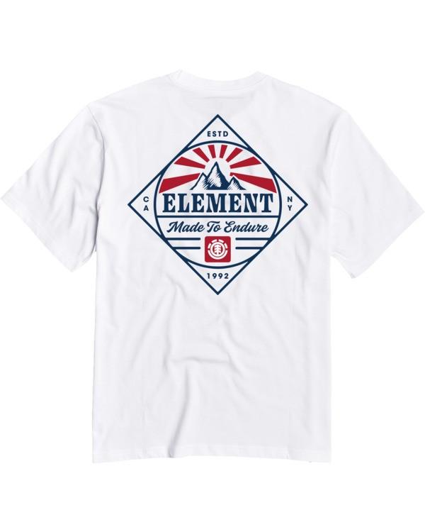 0 Medwell T-Shirt White M4013EME Element